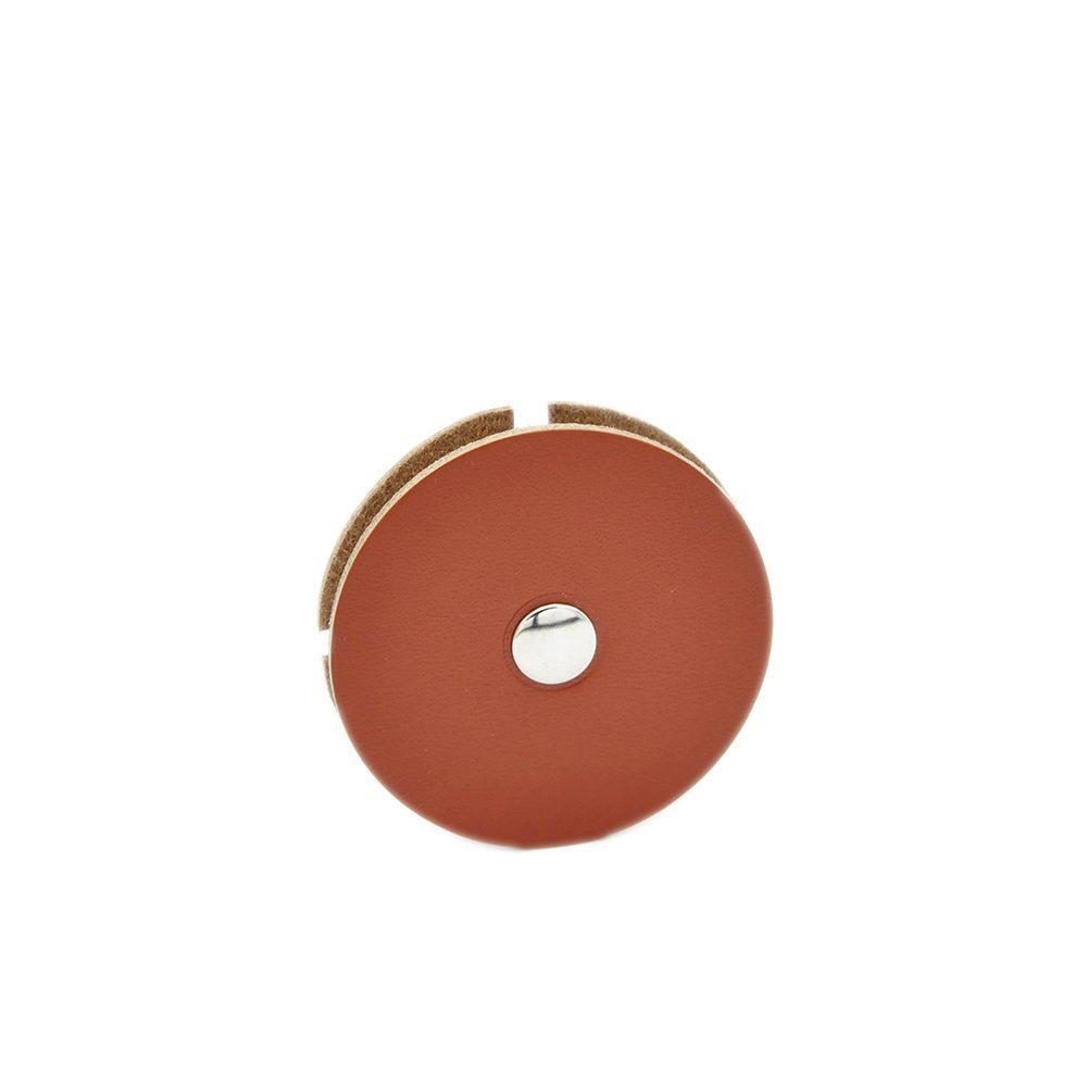 Enrouleur cuir Yophone Mazzarino marron
