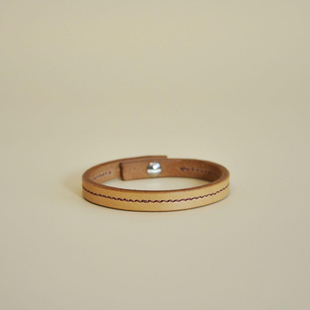 bracelet sellier en cuir mazzarino
