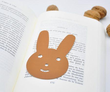 marque page en cuir rabbit mazzarino REC