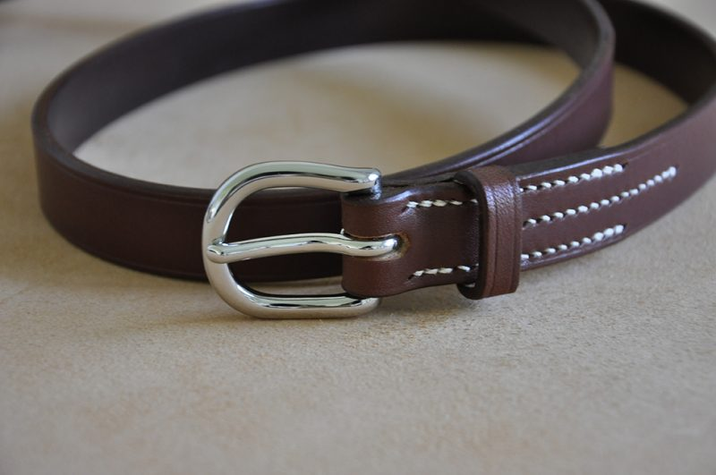 ceinture cuir made in france Nisseno