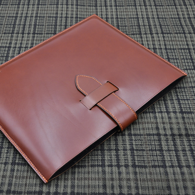 housse tablette cuir made in france