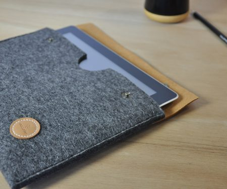 housse tablette feutre made in france
